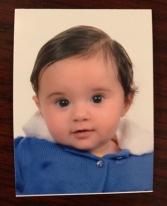Zara's Jordanian passport photo
